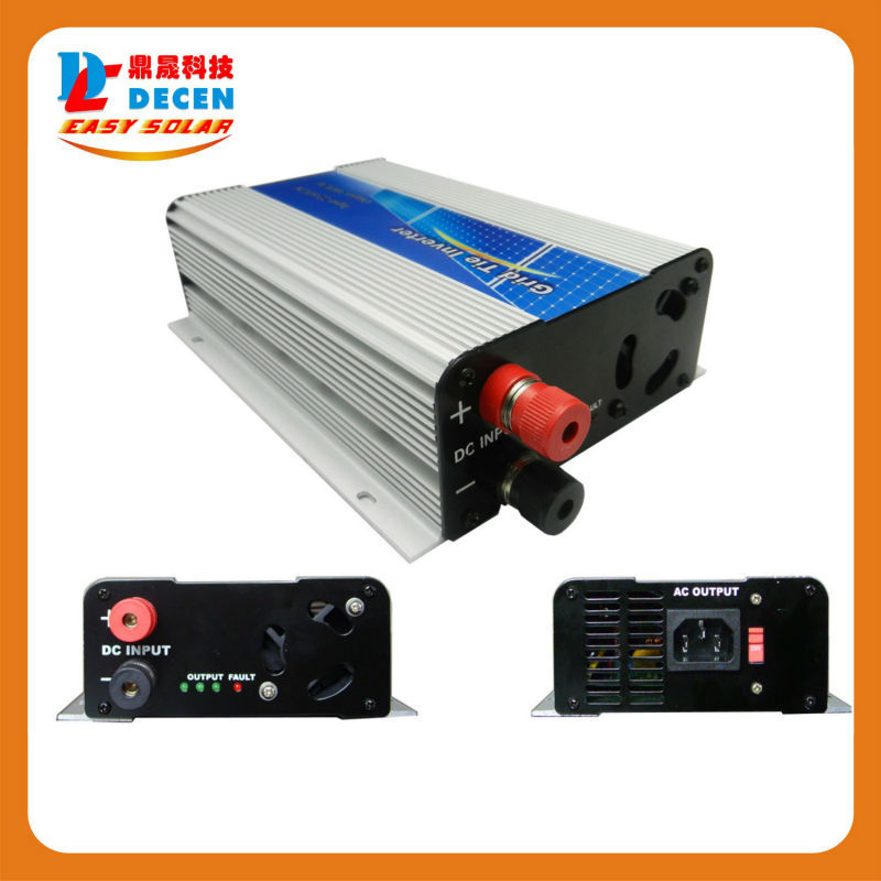 DECEN@ 22-60v 300W Solar High Frequency Pure Sine Wave Grid Tie Inverter, Output 90-160V.50hz/60hz, For Alternative Energy(China (Mainland))