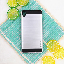 Buy Sony XA Ultra Protect Case Hybrid Armor Brushed Back Cover Sony Xperia C6/XA Ultra F3212 F3216 Phone Cases Coque Fundas for $4.24 in AliExpress store