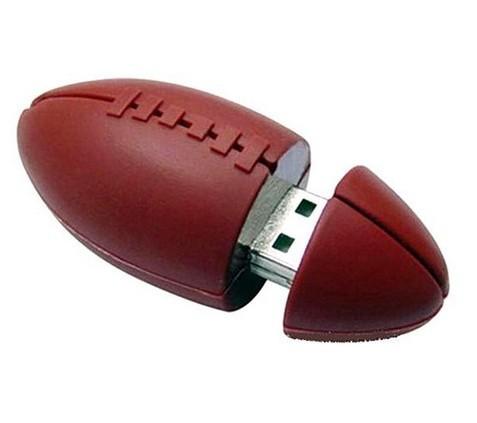 Free shipping new 10pcs/lot Real capacity American football Model USB Memory Stick Flash Pen Drive 2GB 4GB 8GB