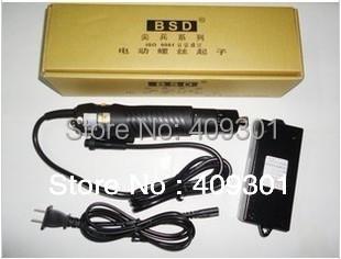 Free Shipping Super Fine BSD-102 220V 0.49-3.43N.m Torque screwdriver adjustable Electric screwdriver,Best Laptop Repair Tool(China (Mainland))