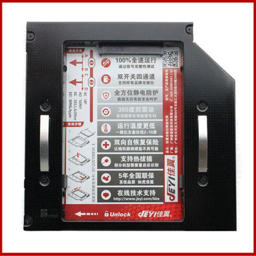 H8+H502 laptop magnesium alloy optical drive Bracket+USB Driver kit 12.7mm SATA CD drive Modification to Hard disk drive <br><br>Aliexpress