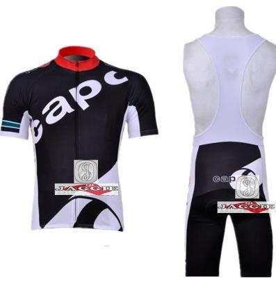 Free shipping! 2011-2 CAPO team cycling jersey and bib shorts / short sleeve jerseys pants bike bicycle wear clothes set
