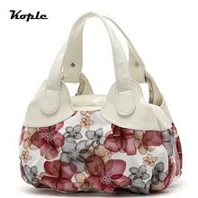 Kople Bolso Mujer New 2016 fashion print women handbag floral Women messenger bags shoulder Bags handbags casual Tote bag YH049