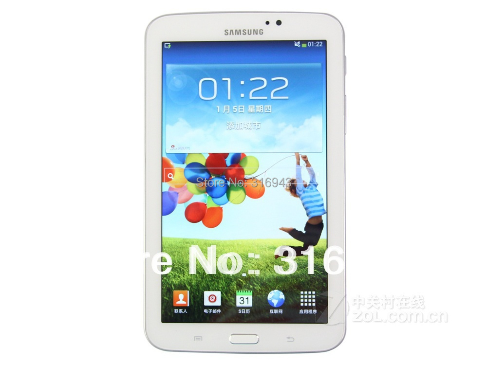 2015 100% Original Samsung GALAXY Tab 3 7.0 (T210) Samsung T210 Dual-Core 7 inches Android4.1 1024x600 Built-in GPS Tablet PC(China (Mainland))