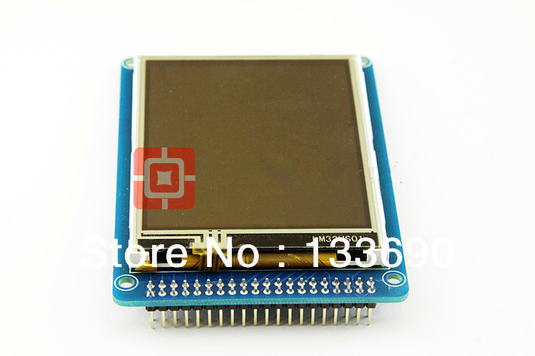 """3.2"""" TFT LCD Module Display + Touch Screen Panel + PCB Board Blue SSD1289 with SD Card Slot 65K Colors(China (Mainland))"""