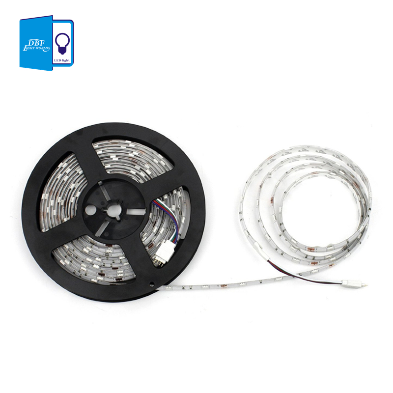 Гаджет  [DBF]  Hight brightness Waterproof or no-waterproof  LED Strip 300leds/5M 3528 SMD Cool/Warm White Red Green Blue Yellow Light None Свет и освещение