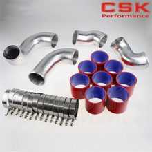 Buy FRONT MOUNT INTERCOOLER PIPE PIPING KIT FOR SKYLINE R33 R34 GTR RB26DETT RED for $91.25 in AliExpress store