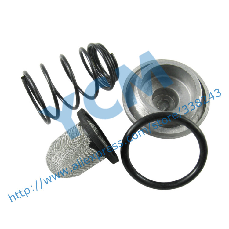 The Oil Drain Screw Mesh Spring font b GY6 b font 50 80 125 150 Engine