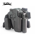 Serpa Style CQC Polymer Drop Leg Thing Holster for M9 M92 Beretta Style Pistol