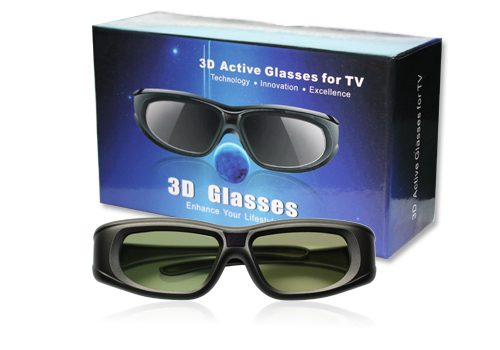 Bluetooth Active Shutter 3D Glasses rechargeable 3d glasses for 3D BLU-RAY Players HDTV (Sony,Panasonic sharp,sumsung)