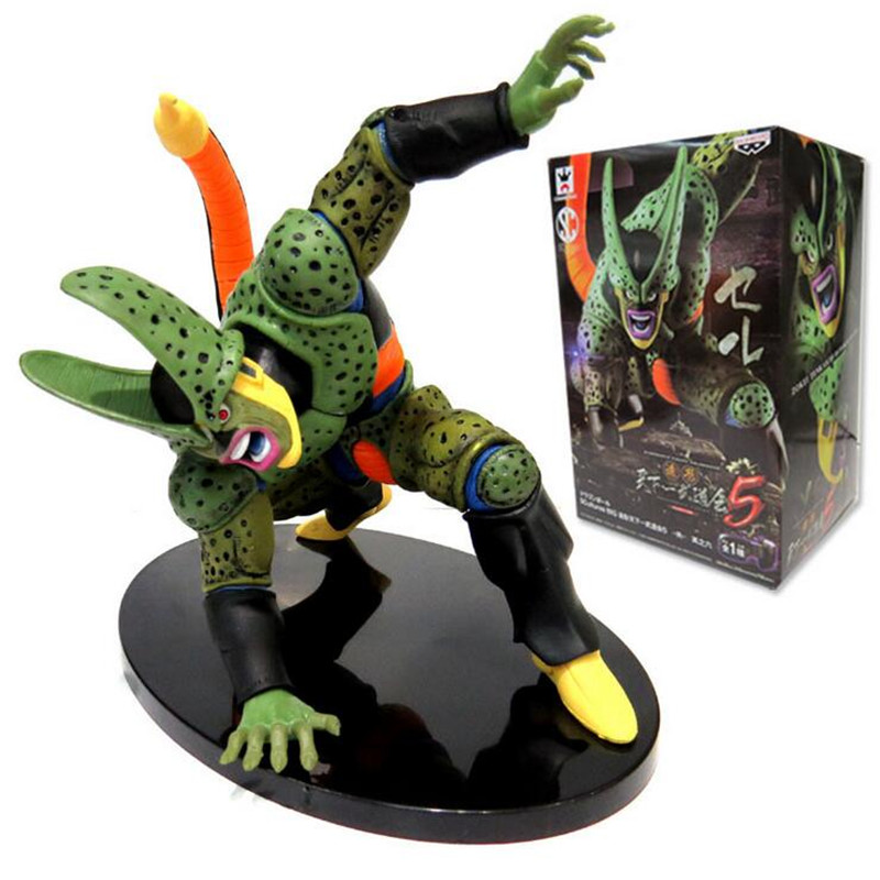 Dragon Ball Z Figure DXF Cell PVC 180mm Dragon Ball Z Action Figure DBZ Cell Second Modal DragonBall Z T261(China (Mainland))