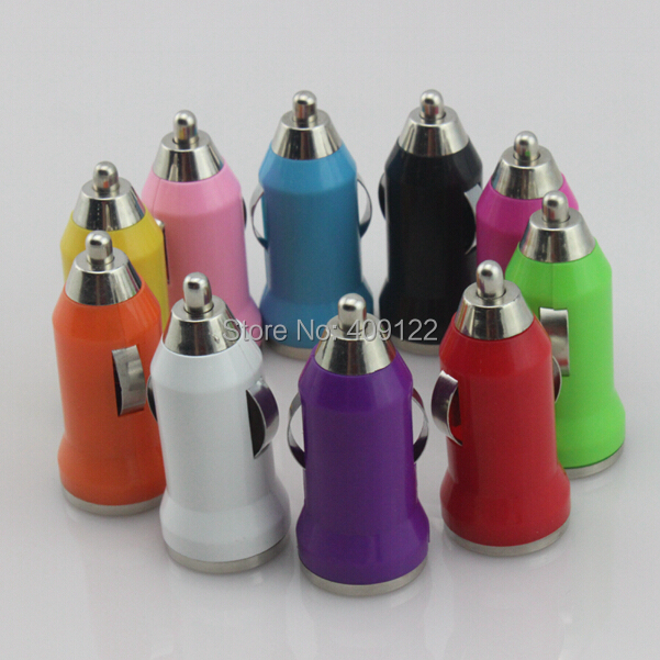 200pcs/lot Colorful Mini USB Car Charger For IPhone 6 plus 5S 5C 5 4 4G 3G for Samsung HTC sony Nokia LG lenovo huawei Motorola(China (Mainland))