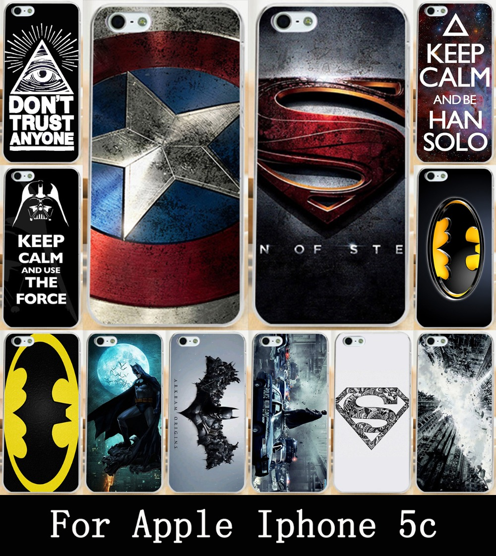 Hot Printed Cool Captain America For Apple iphone 5c Case Cover Painting Skin Custom Hard Phone PC Case Cover For iphone 5c Bag(China (Mainland))