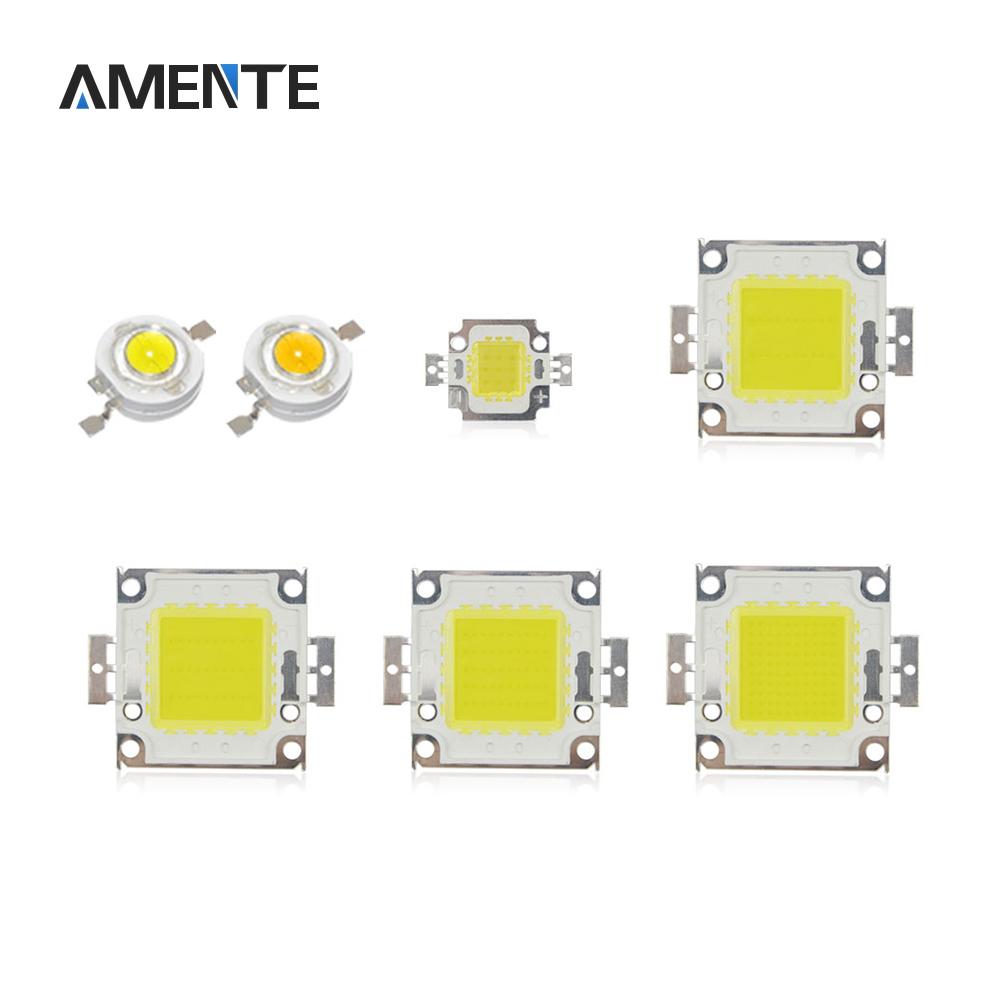High Power COB LED Chip 1W 3W 10W 20W 30W 50W 100W Cold White/Warm White DIY Spotlight Bulb Floodlight LED lamp SMD(China (Mainland))