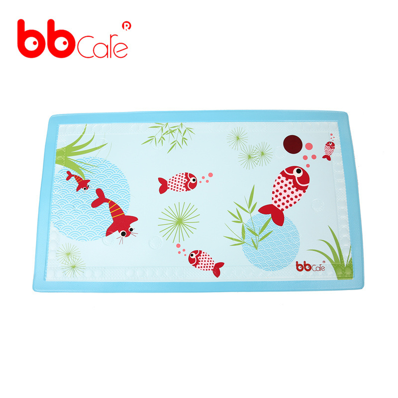 BBCare Baby Non-slip Bath Mat with Temperature Indicator(China (Mainland))