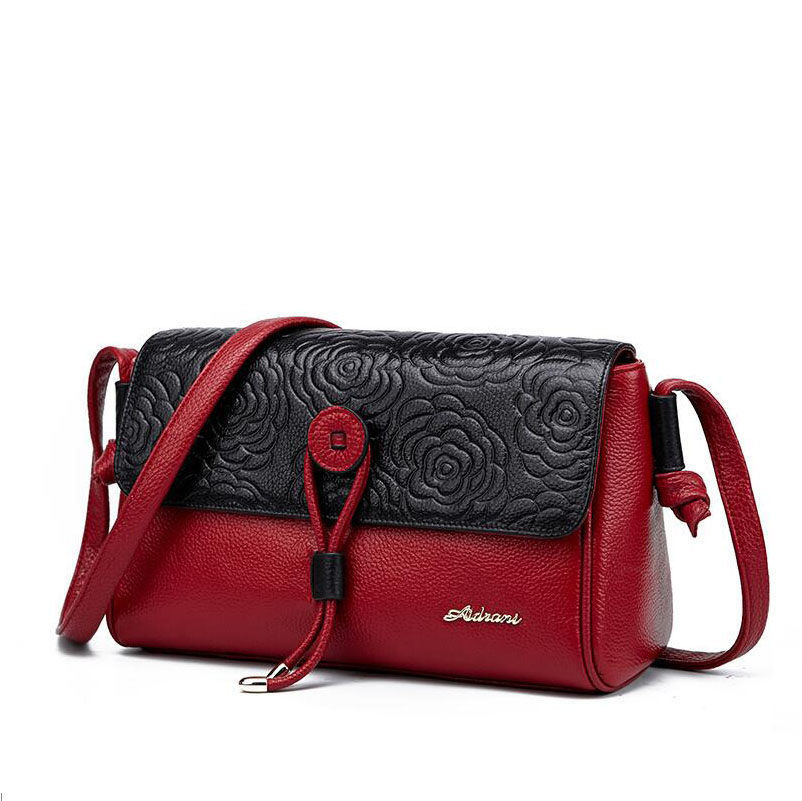 2016 New FOXER quality genuine leather women bag  brands Fashion simple large capacity women shoulder messenger cowhide bag<br><br>Aliexpress