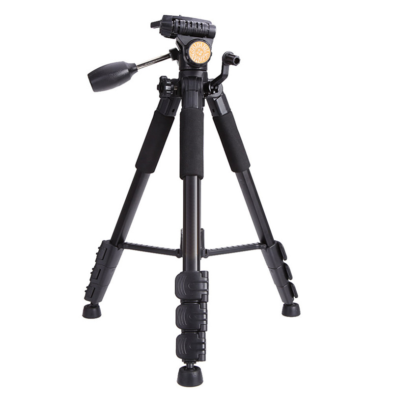 Q111 Professional Camera Tripod Aluminum Alloy Photo Tripod with Q08 Rocker Arm Ball Head for Canon Nikon Sony SLR Camera(China (Mainland))