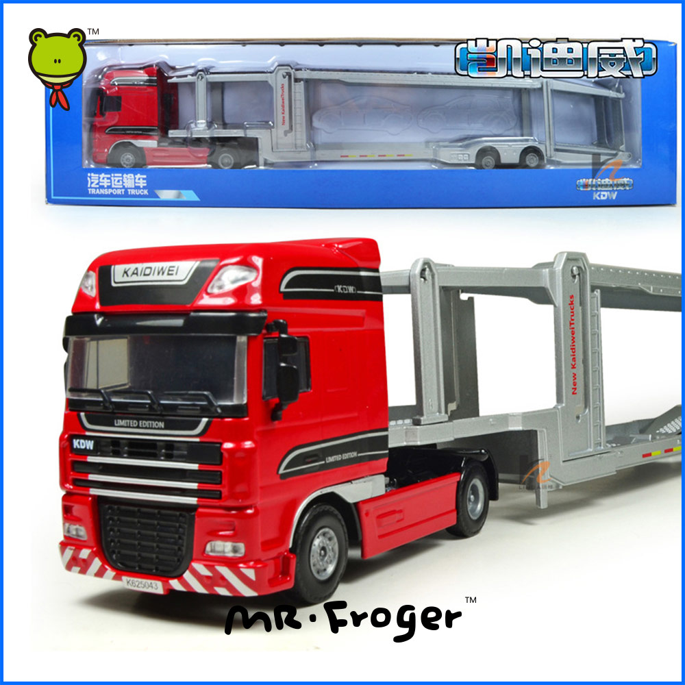 Mr.Froger Transport Truck Model Refined metal alloy car model Refined metal Engineering Construction vehicles truck Decoration(China (Mainland))