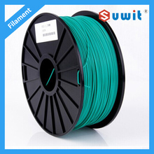 GREEN PLA 3D filament, 1.75mm / 3.0mm 1kg/ roll High Precisi Available 2015 Upgraded for Printer