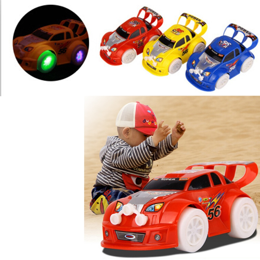 All Cars 1 Race Car Toys : Electric automatic steering led flashing lights music