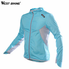 Buy WEST BIKING Women Cycling Windcoat Bicycle Jersey Sports Windcoat Bike Clothing Full Sleeve Jacket Windproof fast-drying Clothes for $16.54 in AliExpress store