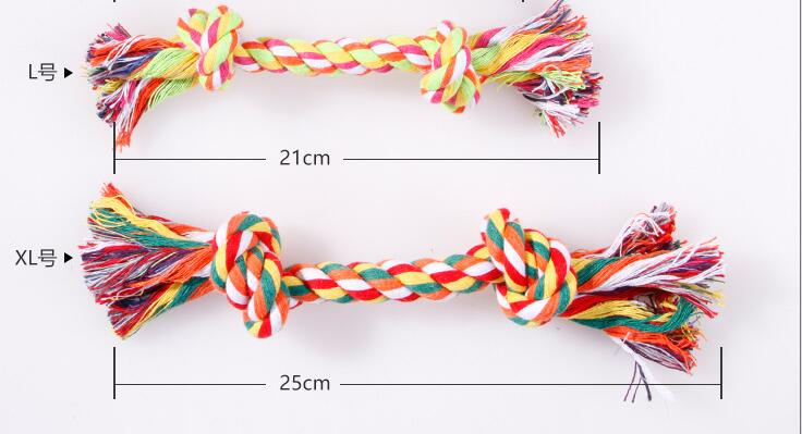 Pet Toy,Cat Toy,Two-section,Bit The Rop,Cotten Rope,Train