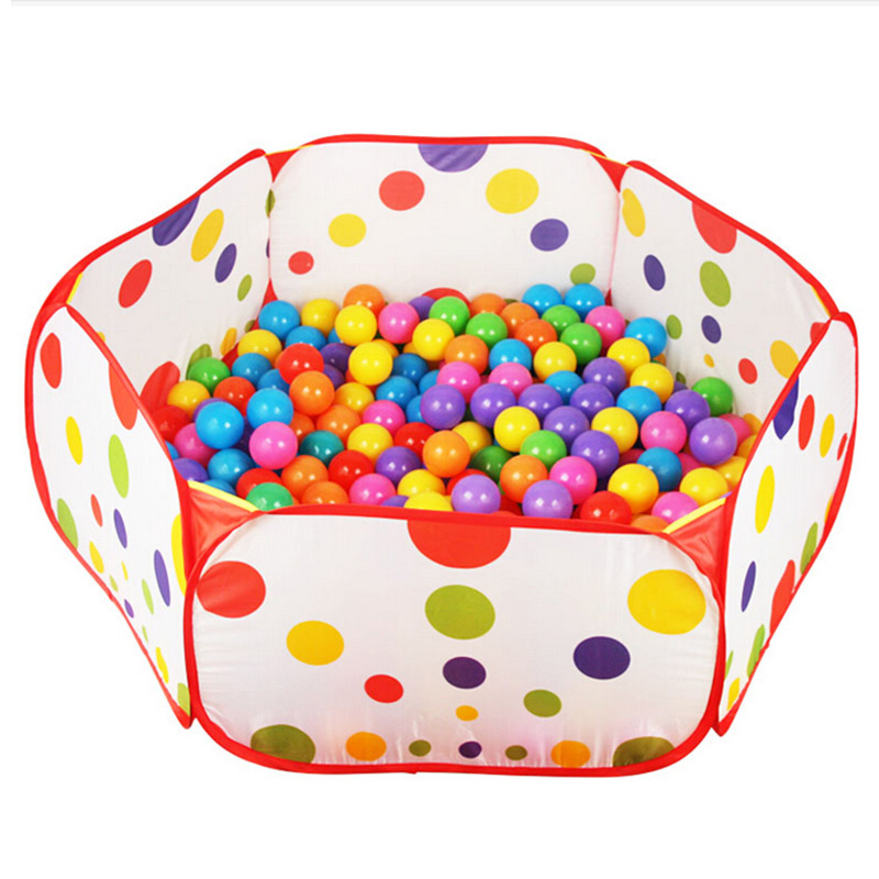 0.9M Foldable Kids Children Ocean Ball Pit Pool Game Play Toys Tent Hut Outdoor Indoor Free Shipping(China (Mainland))