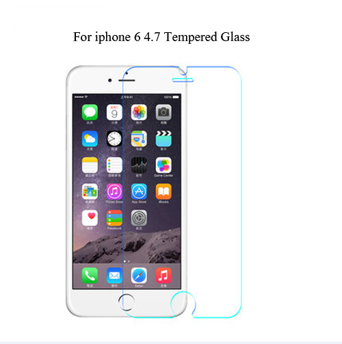 For iPhone 6 4.7 inch Full Cover Film Glass 0.26mm 9H Premium Tempered Glass Screen Protector For iPhone6 4.7 Proective Film(China (Mainland))