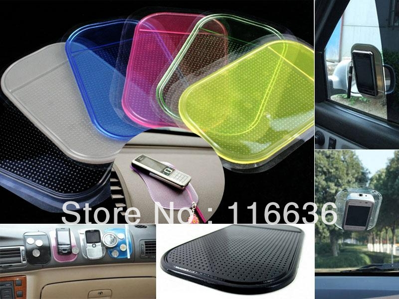 10pcs Silica Gel Magic Sticky Pad Anti-Slip Non Slip Mat Silicone Silicon Pad for Phone Cellphone mobile holder car accesory(China (Mainland))