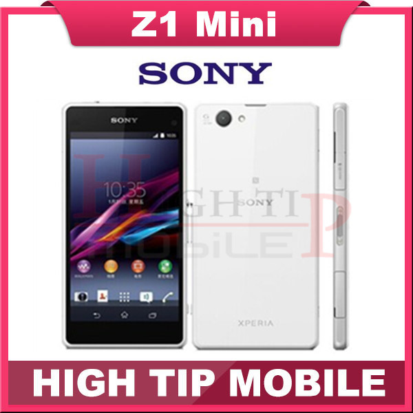 "Original Unlocked Sony Xperia Z1 Compact GSM 3G&4G Android Quad-Core Z1 mini 4.3"" 20.7MP WIFI 16GB rom D5503 Refurbished phone(China (Mainland))"