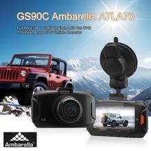 GS90C Ambarella A7LA70 Full HD2.7'' LCD Car DVR G-Sensor Night Vision GPS 170 Degree  Wide Angle Vehicle Recorder In-Dash Camera(China (Mainland))