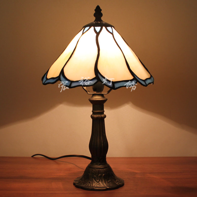 Cheap tiffany table lamp small desk lamp mediterranean Cheap table lamps