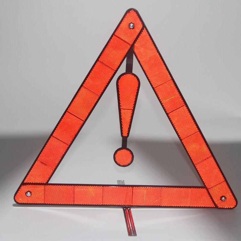 Automobile reflection triangle warning board Triangle warning frame reflector Reflecting 3 corner frame foldable warning board