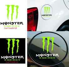 2 sets Ghost Paw reflective Car styling On Fuel Tank Car Decals Car Decor Cool Gost Car Sticker