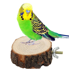 2016 New Sale Parrot Pet Bird Chew Toy Wooden Hanging Swing Birdcage Parakeet Cockatiel Cages Free Shipping(China (Mainland))