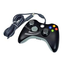 New Wired Game Joypad Controller For Xbox 360 Blac
