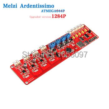 3D reprap Melzi 2 0 printer control board rapid prototyping machine ATMEGA1284 Free shipping