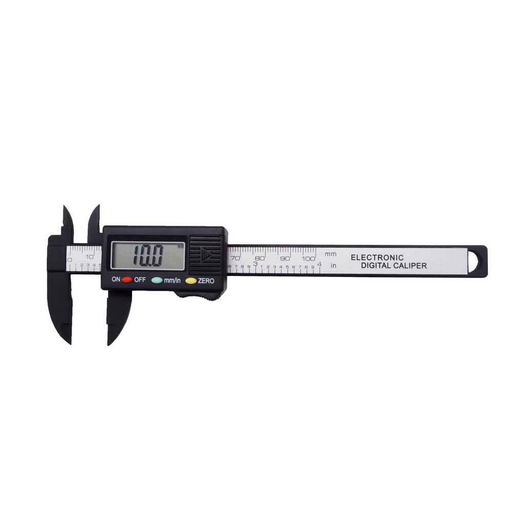 Mini Carbon Fiber Composites Electronic Digital Caliper Precision Measurement Tool with Extra-Large LCD Screen 0-4 Inches<br><br>Aliexpress