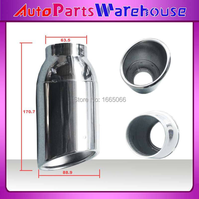 31124402 STAINLESS STEEL CAR EXHAUST PIIPE TAIL PIPES/AUTOMOBILE EXHAUST END PIPES(China (Mainland))