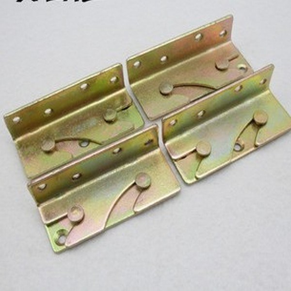 Bed hinge widgets plug-in plug accessories bed bed hinge old bed furniture fittings(China (Mainland))