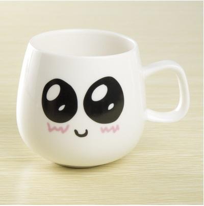 Mug Cup Cute 12 Expression Ceramics Cup Logo Diy Customed