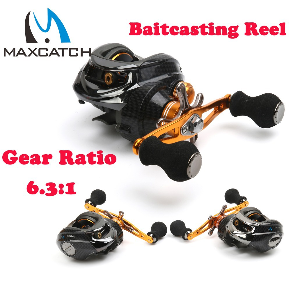 Gear Ration 6.3:1 , 10+1BB Bait-casting Fishing Reel Fishing Reel Bait Casting Fishing Reel(China (Mainland))