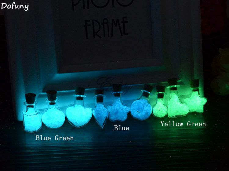 Super Bright Noctilucent Sand,Luminous Sand Decoration Material Spall Fishbowl Glow at Night for Glass vial bottle.(China (Mainland))