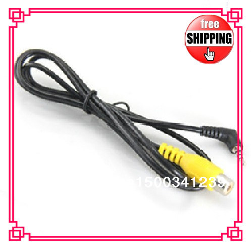 Gps video cable gps av in cable  2.5 AV-IN Cable Car Rear View Camera TO GPS (RCA TO 2.5MM)