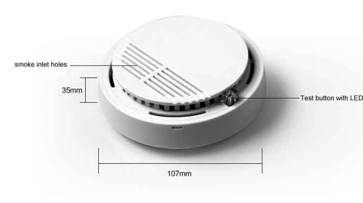 2014 hot sales stable smoke alarm for home usage free shipping <br><br>Aliexpress