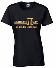 Buy T Shirt High Women'S Ultimate Pi Day Gold Nerdy Geek Math Teacher Gift O-Neck Short Sleeve Casual Tee Shirts for $11.99 in AliExpress store
