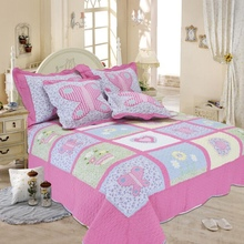 Promotion Girl princess quilt cover Quilt Set 2Pcs/set butterfly printed cotton Cover summer use room home Dec FG199-2(China (Mainland))