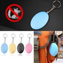 Self Defense Alarm Egg Shape Girl Women Anti-Attack Anti-Rape Security Protect Alert Personal Safety Scream Loud Keychain Alarm