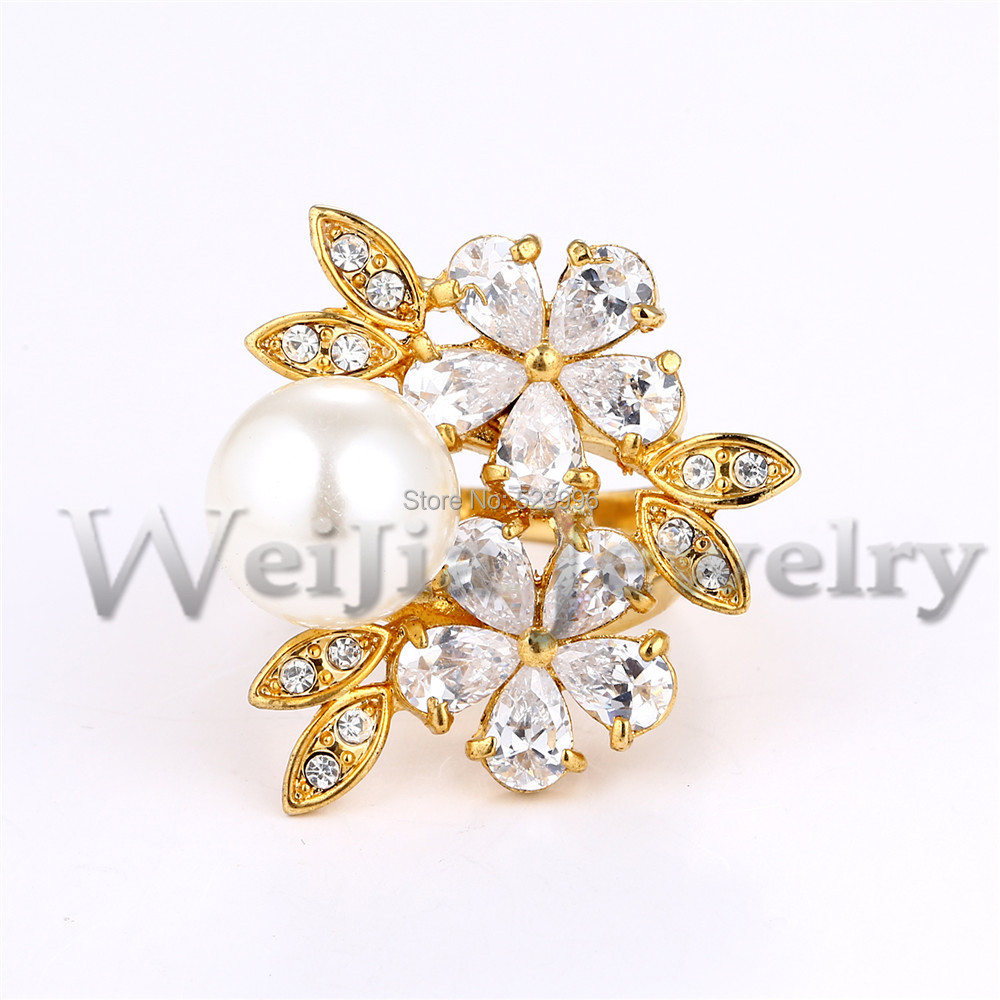 aliexpress buy new fashion white gold rings cubic