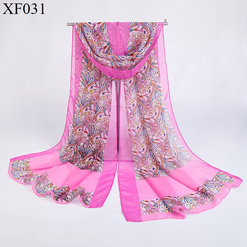 2016 winter Chiffon silk Scarf female summer autumn all-match scarf long design air conditioning cape silk scarves shawls S080